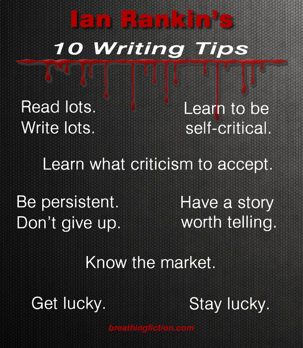 Ian Rankin Writing Tips